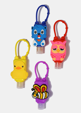 Fun Character Hand Sanitizer