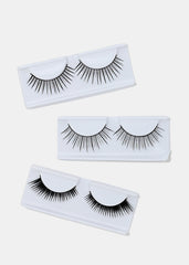 3 Pair Fake Eyelash Kit- 001