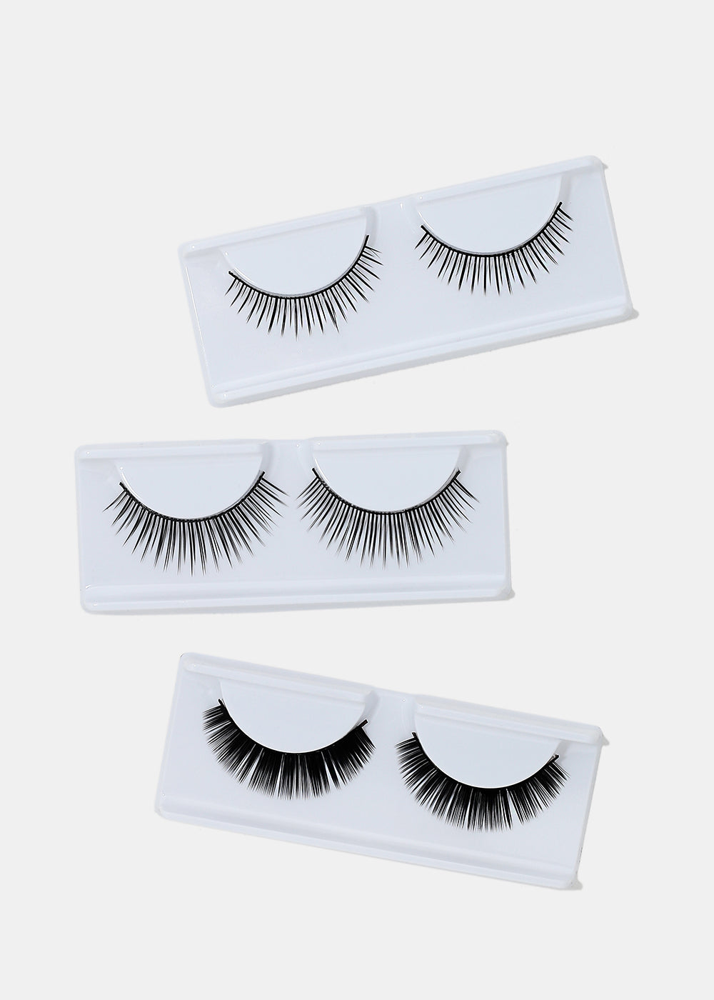 3 Pair Fake Eyelash Kit- 005