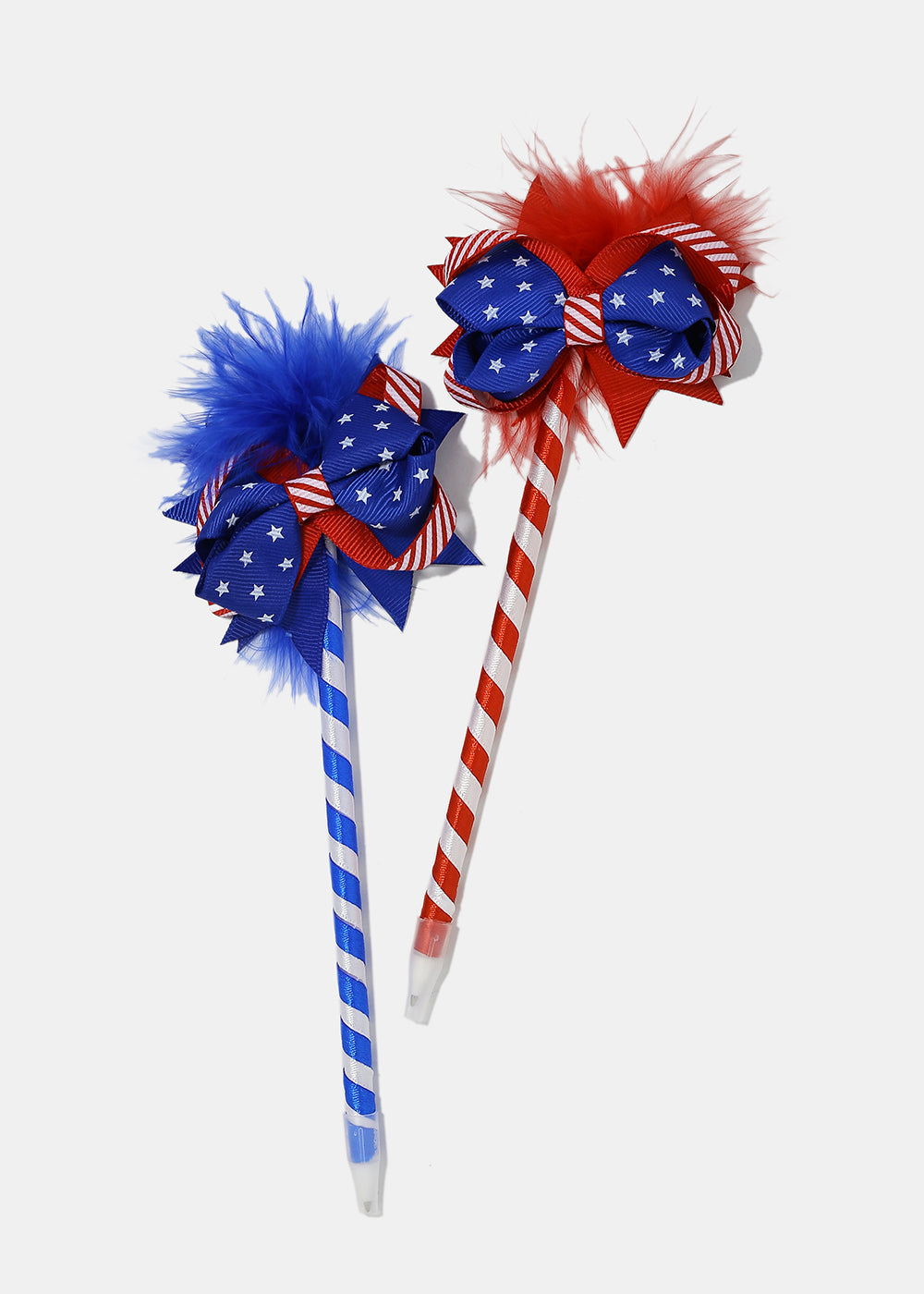 American Flag Striped Pen