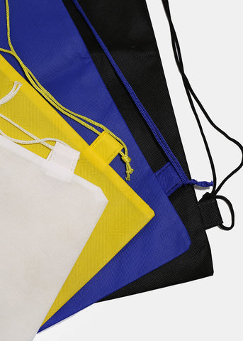 Solid Color Drawstring Backpack