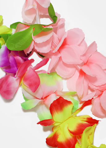 Hawaiian-Inspired Flower Lei