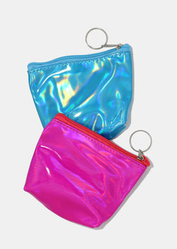 Small Holographic Coin Purse