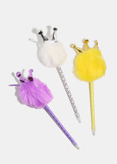 Crown Pom-Pom Pen