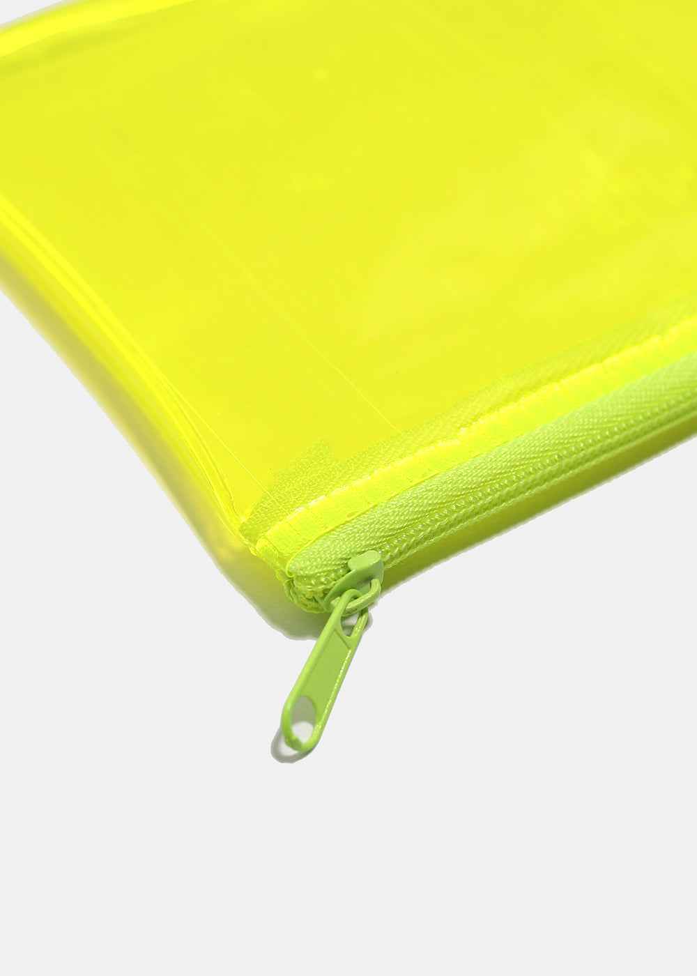Translucent Zippered Pouch
