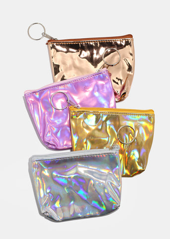 Holographic Coin Pouch