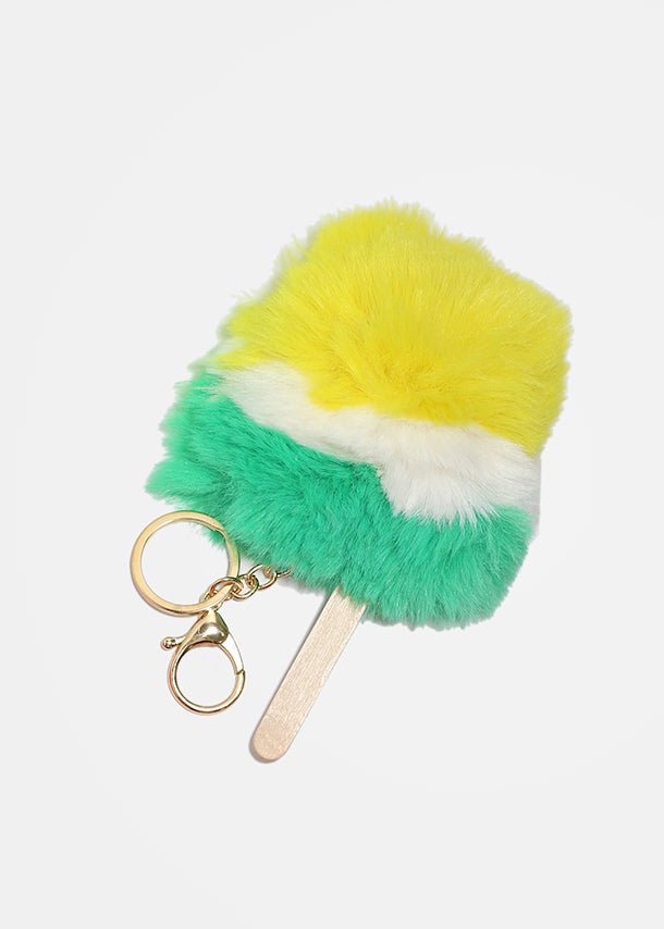 Furry Popsicle Keychain