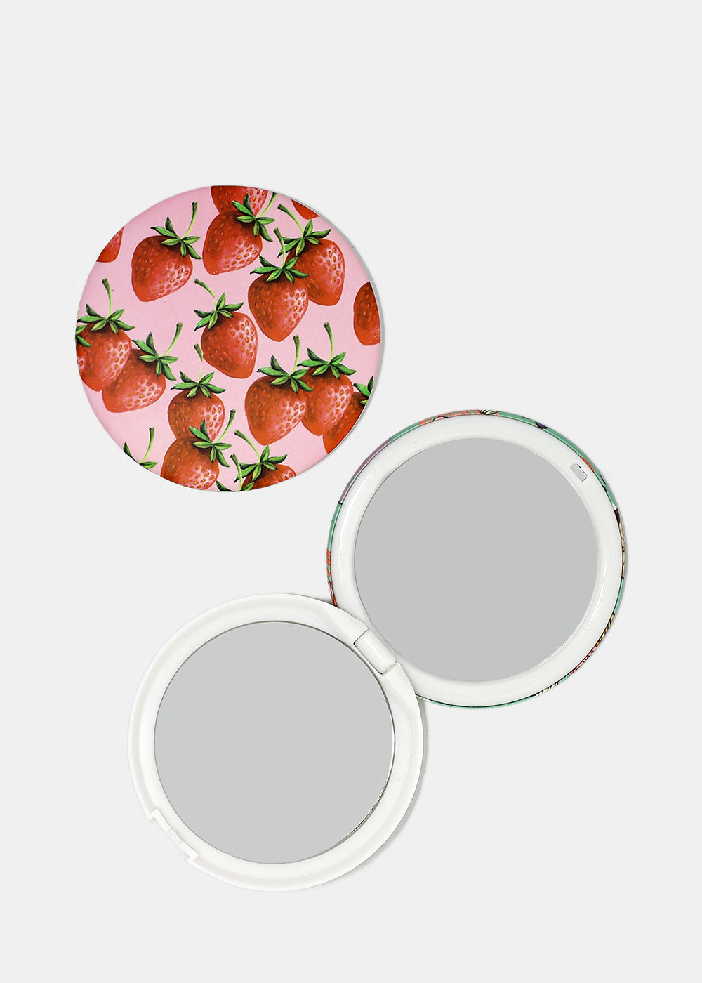 Cupcakes & Strawberries Pocket Mirrors