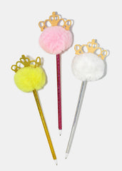 Crown Pom Pom Pen