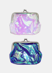 Transparent Holographic Coin Purse