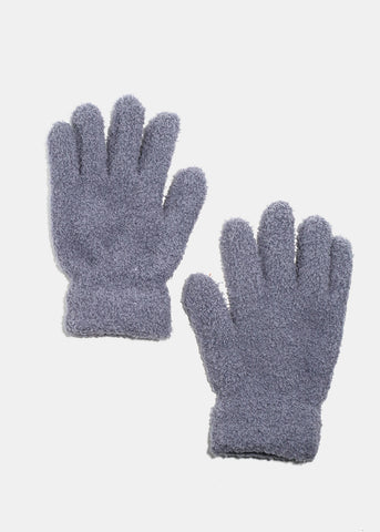 Fuzzy Winter Gloves