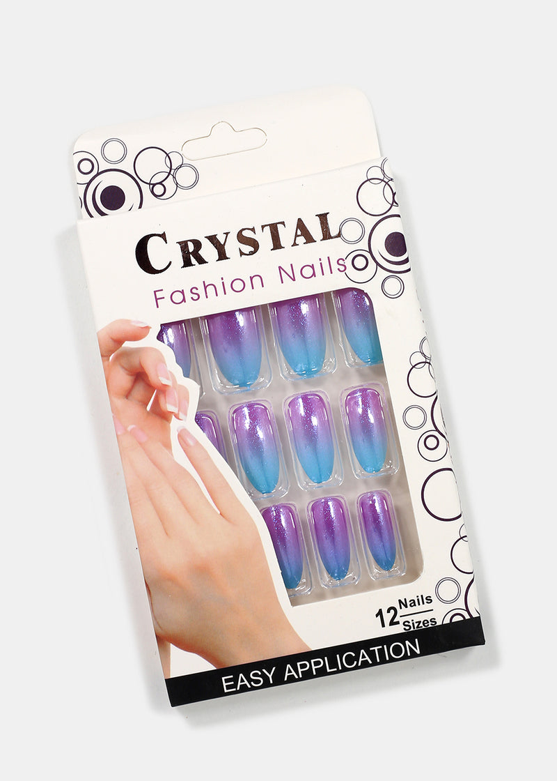 Ombre Shimmer Press-On Nails