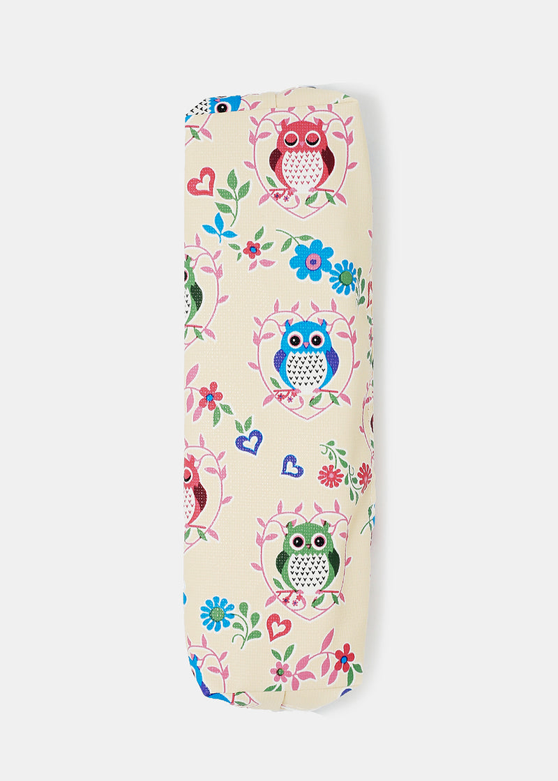 Owl Print Pencil Pouch