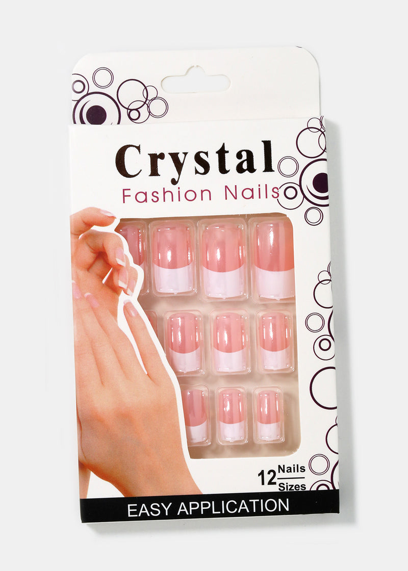 Classic French Tip Press-On Nails