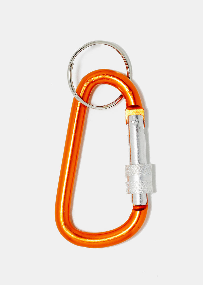 Solid Color Carabiner Key Ring