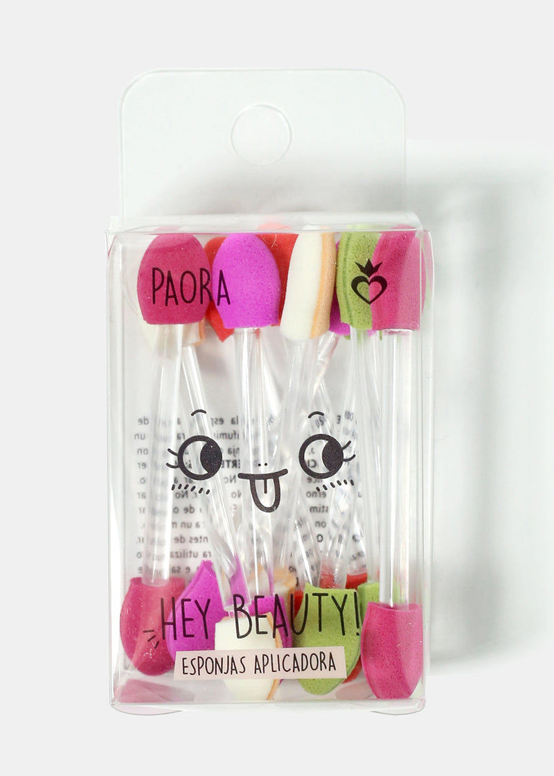 10-Piece Eyeshadow Sponge Applicators