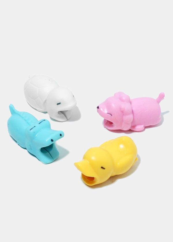 Adorable Animal Cartoon Cable Accessory