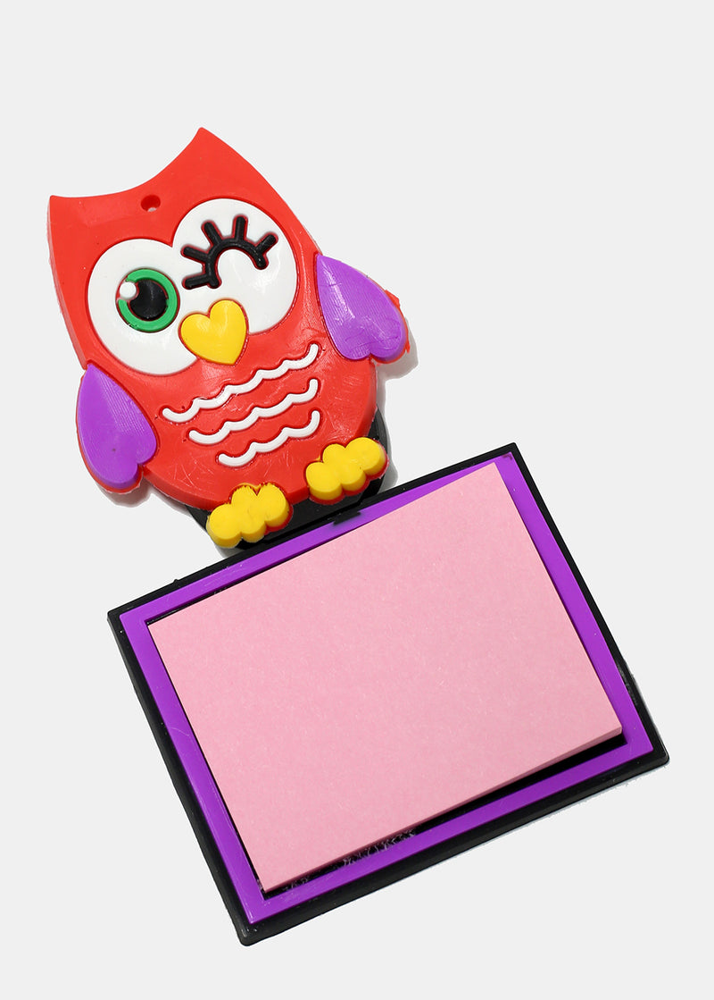 Magnetic Owl Sticky Notes