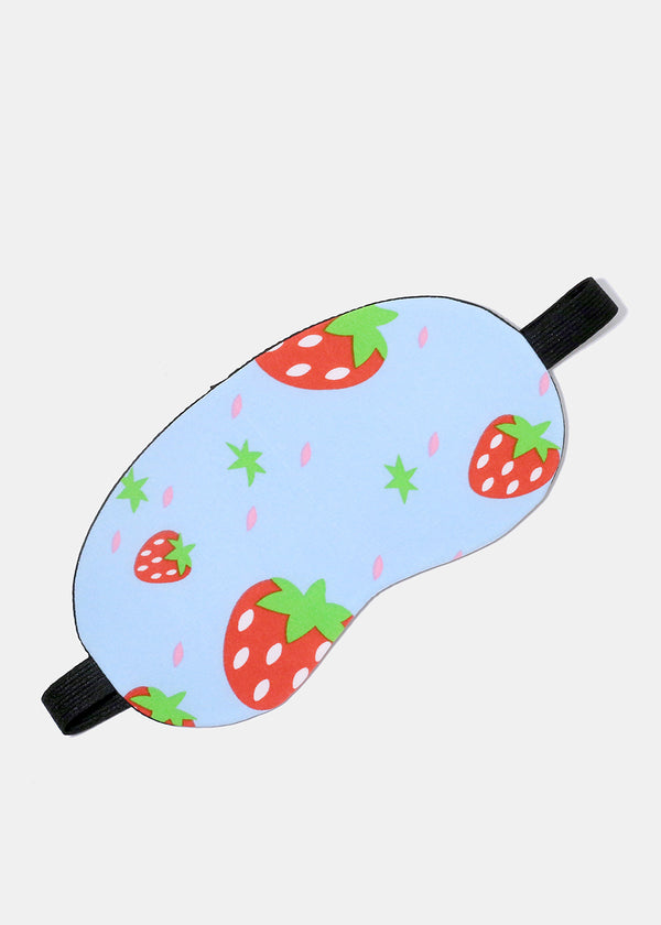 Strawberry Stretchy Sleeping Mask