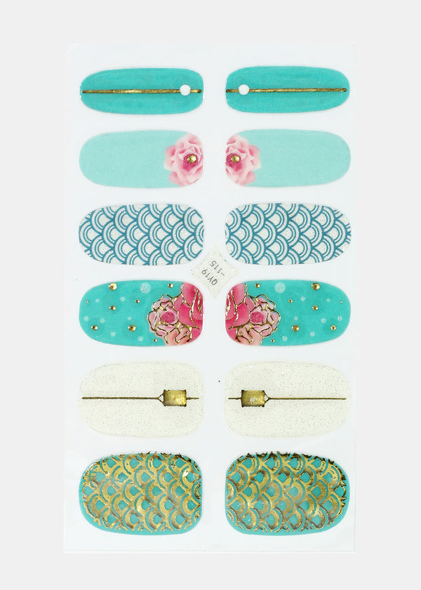 Multi Design Nail Stickers