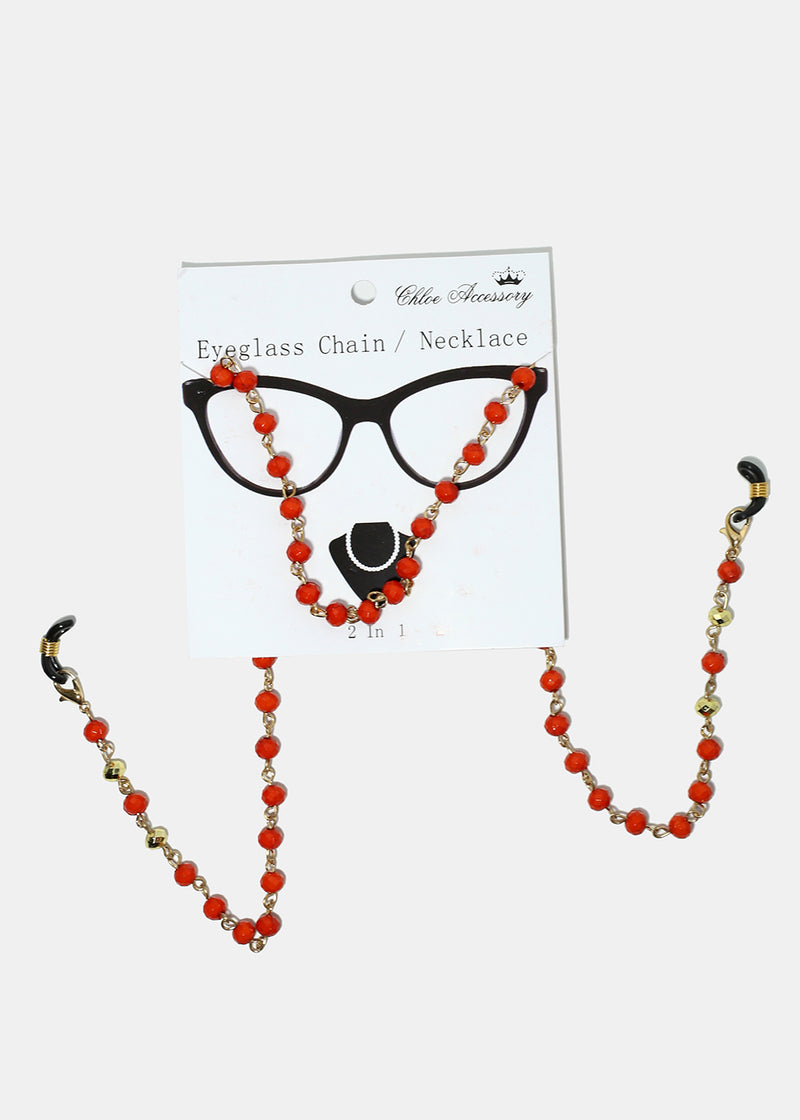 Colorful Beaded Eyeglasses Straps