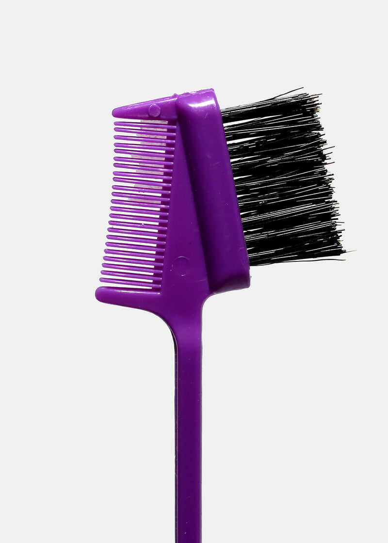 Double Sided Edge Control Brush & Comb