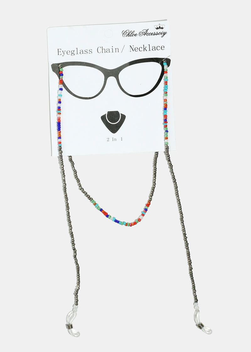 Beaded Eyeglass Chain/Necklace