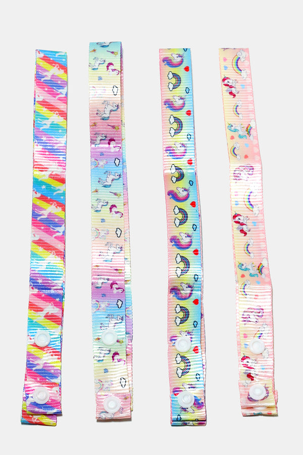 Thick Unicorn Print Mask Lanyards/Straps