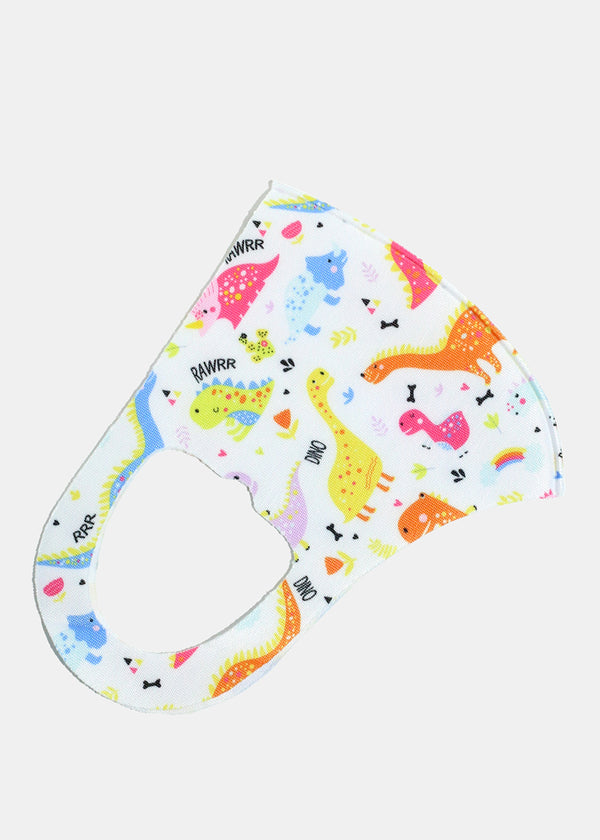 Child's Size Animal Re-Useable Face Mask