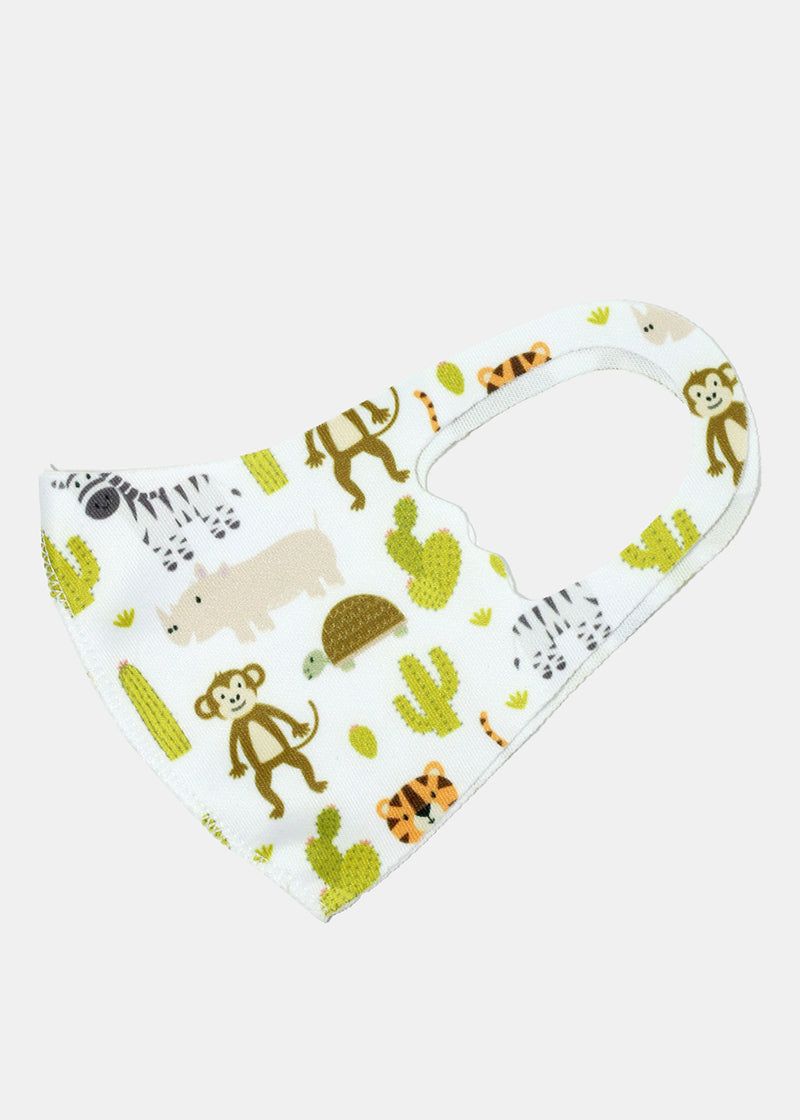 Animal Print Kid's Face Mask