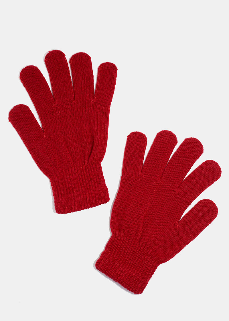 Solid Color Gloves