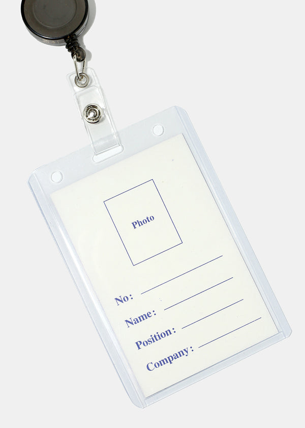 ID Card Retractable Holder