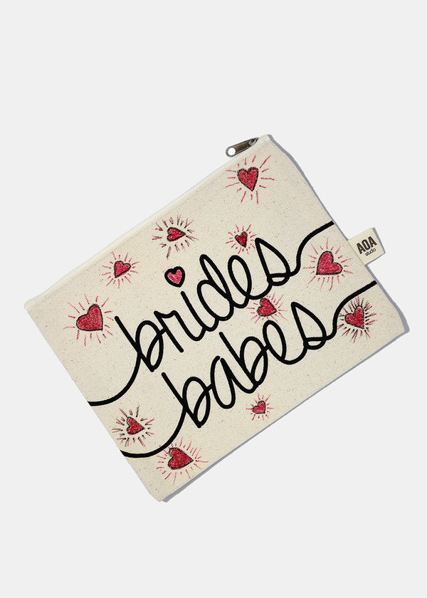 AOA Canvas Pouch - Bride's Babes