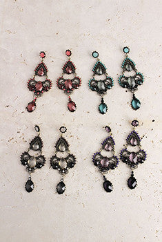 Radiant Chandelier Earrings