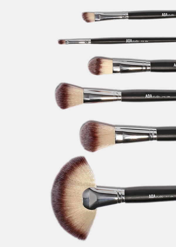 AOA 12-Piece AM Brush Set