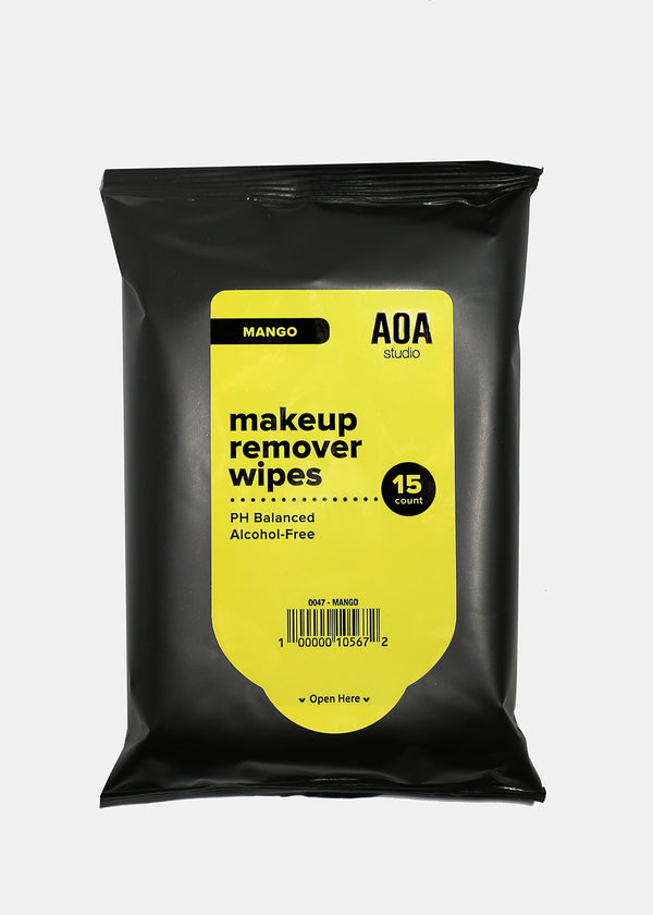 AOA Makeup Remover Wipes - Mango