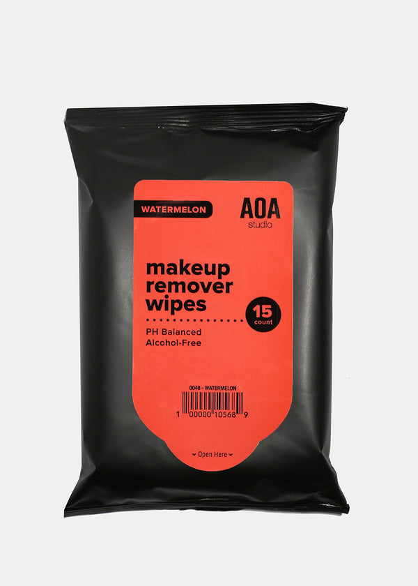 AOA Makeup Remover Wipes - Watermelon