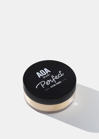 AOA Perfect Setting Powder- Banana
