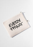 AOA Canvas Pouch- Every Thing