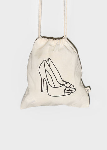AOA Canvas Shoe Bag
