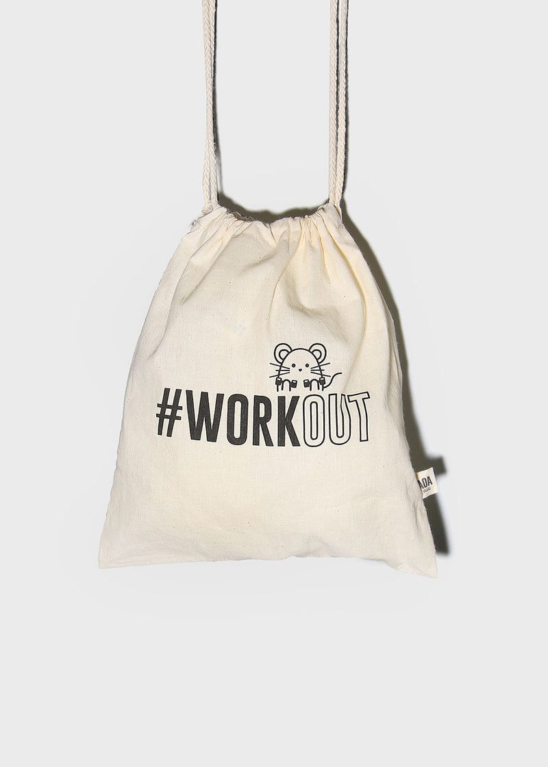 AOA Workout Canvas Bag