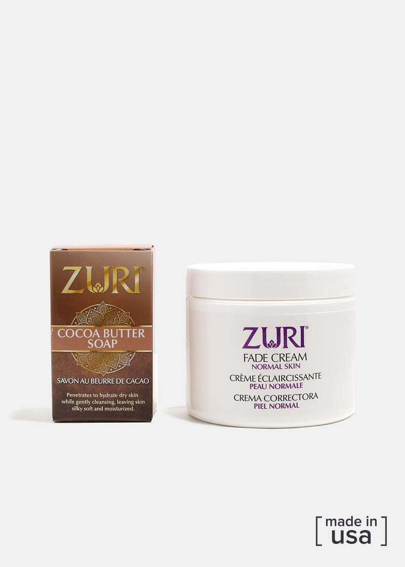 Zuri Fade Cream with Mini Cocoa Butter Soap