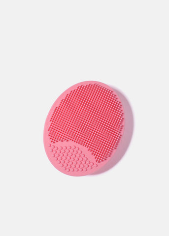 AOA Scrubby Facial Cleansing Pad- Pink