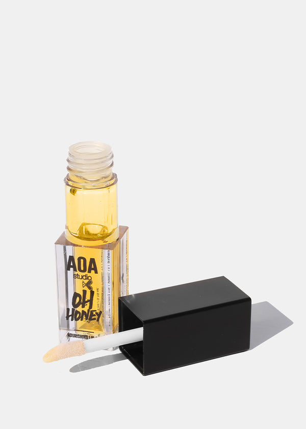 AOA Oh Honey Lip Oil - Peach