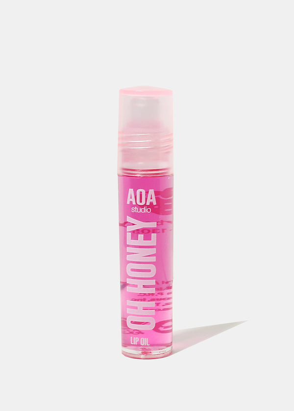 AOA Oh Honey Lip Oil Rollerball - Strawberry