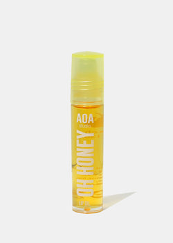 AOA Oh Honey Lip Oil Rollerball - Peach