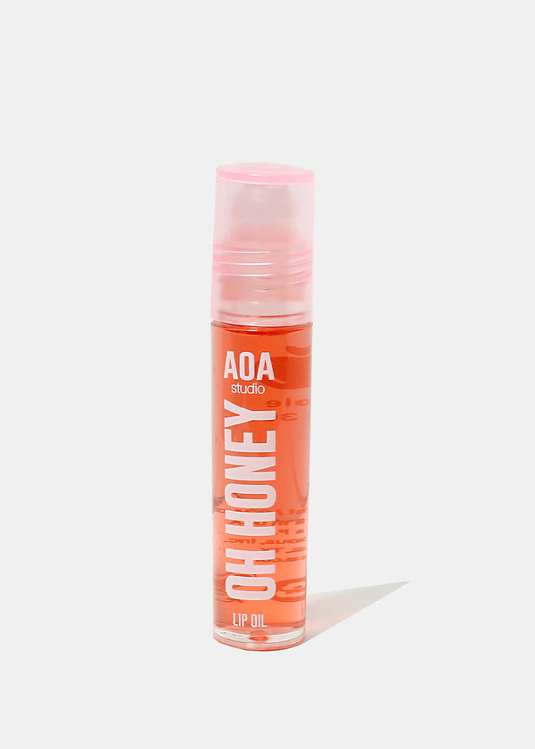 AOA Oh Honey Lip Oil Rollerball- Apple