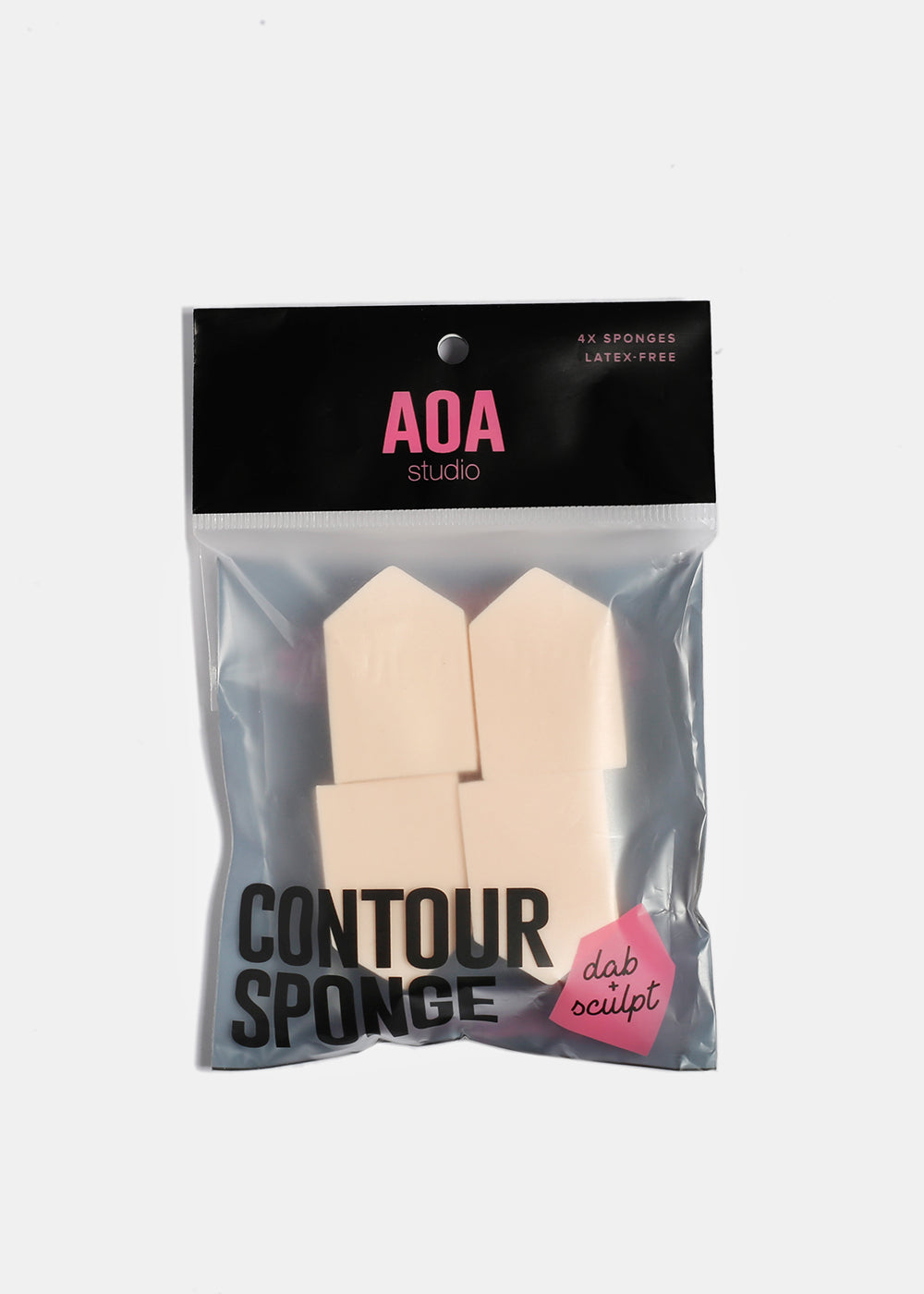AOA Wedge Sponge- 4 Pack