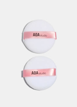 AOA Cotton Powder Puff- 2 Pack