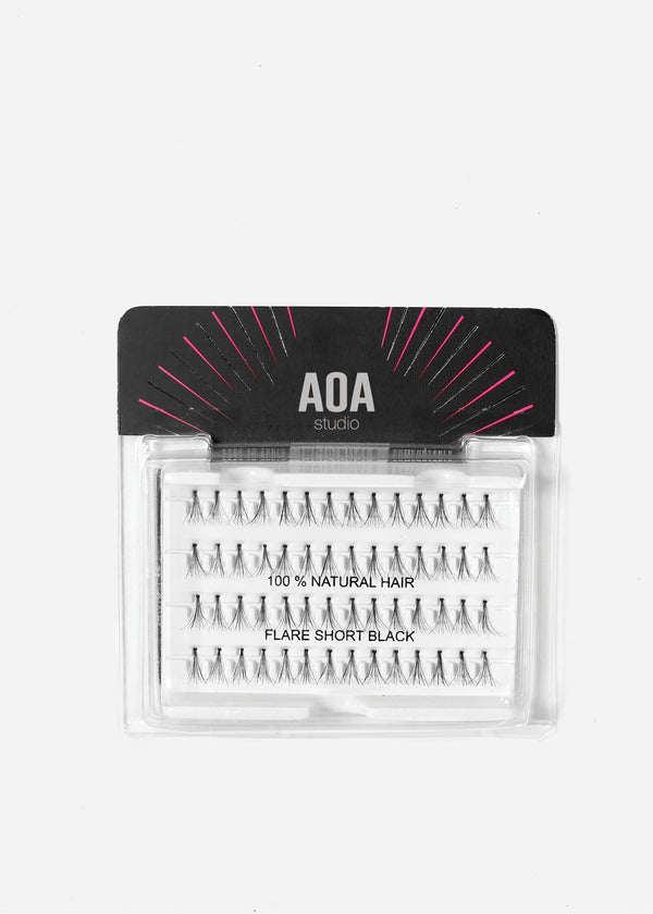 AOA Studio Eyelashes - Flare Short